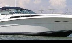 "This is without a doubt one of the best boats Sea Ray ever built. With a 13' 11"" beam she provides a smooth and comfortable ride with plenty of room for everyone. This boat has been meticulously cared for with service records available. Many updates and"