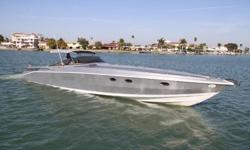 .............................................The sophisticated, comfortable and affordable Scarab is now even better. Repowered with triple diesels, Yanmars in 2005, this Scarab is fast and great on fuel. The legendary soft ride and spacious living areas