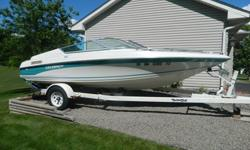 Celebrity 180 Runabout in very good condition....clean and runs great! Come see it for yourself! ***Would be a great boat for the 4th of July!!! *** * 18.2 ft. * Alpha One 4.3 ltr. 175hp Mercruiser * Fast boat for skiing or towing a tube! * Includes