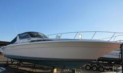 We will contact you only if you send us your phone number.This boat has two diesel Caterpillar motors with 2217 hours on one and 2194 on the other, generator with 128 hrs on it, marine radio, Ray Marine chart map, C 120, autopilot, simrad ap 22, trim