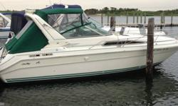 Stock Number: 713708. Great boat for sale by owner with LOW hours on the engines! 1991 28 ft SeaRay, sleeps up to 6 people, 11? beam, 667 hours on Twin 250hp V-8 Mercs, has working kitchen and bathroom. 2 year old canvas. Please call Ray 516-526-7943 .