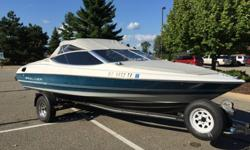 20' Bayliner Capri with 120 HP Mercruiser L-Drive with trailer.Clean boat and runs excellent.Boat stored indoors during winter months.Comes with new: 1. Radio 2. Depth finder 3. Trailer axles 4. Trailer tires 5. Battery 6. Re-wired 7. Steering cablesBoat
