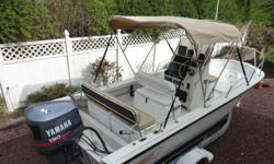 ,,original:Boston Whaler 1991 Outrage 19. This is a center console boat in excellent condition.;;; Always trailered and never bottom painted. Custom rear seating, reversible pilot seat, raymarine DX600X fishfinder, Garmin GPS 126, ICOM VHF radio, Richie