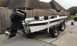 17.5' 1992 Champion /black max2.5 2001992 Champion 17.5 with a 1995 Black Max 2.5 200 goes 75mph. New plugs, seats, batteries, tires, boards,freshly new painted motor, power pack, dual cable steering (sea-star),front deck re-done, new impeller and lower