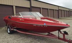 1992 corona boat in pristine condition. The price includes the trailer, snap on covers, mooring cover, extra captain's chair. Bimini top included. 200 hp. The boat runs great and we have had no problems with it. It is strong enough to pull 4 adults on