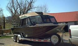 Offering for auction this 1992 22ft jet boat. If rear aluminum diamond plate platform is included the length would be 25ft. Built by Miller North West Marine Mfg. Included is a 1992 Bake trailer. A Red Line 460 engine powers the boat with 340 HP. Also has