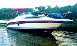 A 1992 Valanti 240 with a 350 magnum alpha one Mercruiser engine. 260 HP ,2 new battery's, Engine is brand NEW , 30 hours , come with trailer .Run great ,look good.life jackets, and an obrien tube , have title in hand,This boat needs nothing it is ready