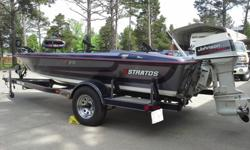 1992 CUSTOM-BUILT FIBERGLASS FISHING BOAT, SPECIFICALLY BUILT FOR STRIPER FISHING. BOAT IS IN LIKE-NEW CONDITION AND HAS ALWAYS BEEN KEPT IN GARAGE.17.5 FT BOAT, WITH 70 HP JOHNSON BACKTROLL OUTBOARD MOTOR, AND 12/24 VOLT EVINRUDE TROLLING MOTORVERY LOW