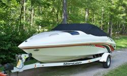 I'LL RESPOND ONLY THROUGH PHONE SO PLEASE LEAVE ME YOUR NUMBER. THANKS! VERY VERY RARE ONLY 3 KNOW TO EXIST.........EXTREAMLY RARE 21FT. WITH MERCRUISER V-6 AND SHORELANDER TRAILER ALL IN SUPERIOR CONDOTION ONLY 240 HOURS FRESHWATER USE ONLY....I'LL