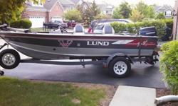 1993 lund 1660 PRO V DLX with evinrude 70 hp & shorelander trailer with spare,electronics are included. Two batteries one used for cranking & one used for trolling. Trolling motor with foot control, swivel seats ,swivel casting seat ,bilge pump , live