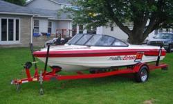 1993 Malibu Echelon Competition Tournament Ski Boat 20 ft only has 338 hrs. It has been stored inside it's entire life. It was trailered to and from the lake each use. It has been stored inside when not on the water. Every time it came out of the water it