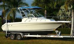 ****Year:1993Make:Sea RayEngine Type:Single Outboard Model: 21 LagunaEngine Make:Mercury Engine Type:Cuddy CabinEngine Model:225 OPTIMAX Length (feet):21Primary Fuel Type:Gas Beam (feet):8.6Fuel Capacity:76 - 100 Gallons Hull Material: Fiberglass/....