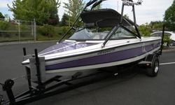 Premier Motorsports has for you a 2 Local Owner 1993 SKI BRENDELLA PRO COMP 20 ' Ski Boat with only 392.6 HOURS and a SAMSON Tow Bar!!! This boat is dialed in and has been stored out of the water since it was new!!! The Pro Comp comes with a 351 Ford V8