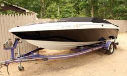 1994 Baja Hot Shot - 20' Speed Boat, Magnum 350 Alpha 1 V8 - most were only 4.3L V6's - Seats 5, Through the Hull Exhaust BRAND NEW! AM/FM/CD Stereo, Never Bottom Painted, Updated Looks, Trailer Included, Stainless Steel Prop, Just serviced by my marine
