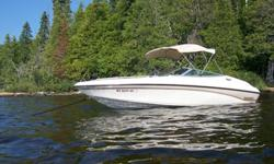1994 Crownline 225BR7.4 Liter Mercruiser 310 hp, Bravo DriveStarts easy, runs strong, 900 hrsNo known issuesDual Batteries with switchUpholstery excellent, no rips or tearsCockpit,storage and bimini(quick release brackets) covers60 gal fuelVery nice 2005