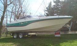 ,.1994 wellcraft 23 nove with a Big Block 454. You will not find a cleaner boat out there for its age, its really like new .The first owner keep the boat dry docked on lake superior. I've never left it in the water other then staying a night in