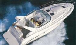 Type of Boat: Power BoatYear: 1995Make: SilvertonModel: 361 Express CruiserLength: 36Hours: 480Fuel Capacity: 300Fuel Type: GasEngine Model: Twin 330hp Cruisers 7.4 V8 GasSleeps how many: 6Number of A/C Units: 1Max Speed (Boat): 35Cruising Speed (Boat):