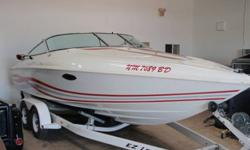 Aggressive lines, a sleek deep-vee hull, and a powerful Mercruiser 7.4L V8 combine to make the Baja Caliber .22 Twilight a pure adrenaline rush on the water. Baja is known to produce the finest powerboats on the water today and with this boat they broke