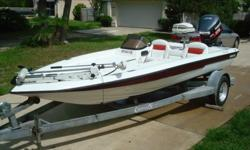 TAKE A LOOK AT THIS 1995 MODEL BASS AND BAY, SINGLE CONSOLE CHAMPION. EVERYONE KNOWS THESE CROSSOVER MODELS ARE HARD TO COME BY. AS YOU CAN TELL FROM THE PHOTOS, SHE FEATURES A TEXTURED DECK / FLOOR. NOT ONLY IS THIS VERY COOL ON YOUR FEET WHILE FISHING
