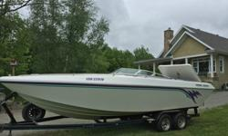 We will contact you only if you send us your phone number.1995 Checkmate Persuader 261, 26 feet long, with a Mercruiser 502ci high performance engine with only 15 hours since complete rebuild. I just got the boat back from being completely checked over by