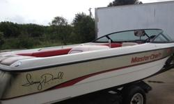 1995 MASTERCRAFT PROP STAR 190 SAMMY DUVALL SERIES, THIS A CELEBRITY PERSONAL BOAT WHO LIVES IN ORLANDO THIS IS A ONE OWNER ONE LAKE BOAT, IT HAS ONLY BEEN ON ONE LAKE IT'S WHOLE LIFE AND ALWAYS ON A BOAT LIFT AND COVERED UP HAS THE ORGINAL FLORIDA TITLE