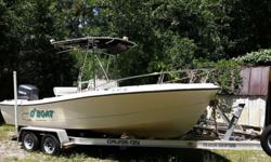 Great offshore fishing boat. Ready to drop in the water and go fishing today. Included:1995 22ft ProSport Center console in great shape for the age. Never left in water for more then a couple of days. 1996 200hp Yamaha Saltwater Series II Oil injected-
