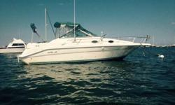 1995 Sea Ray 270DA Sundancer. Turn key boat that is powered by a 7.4l with less than 150 hours on her. Deep Vee hull rides smooth in any condition. Has a 100 gallon fuel tank take will take you the distance. A new alternator, starter and raw water pump