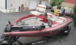 1995 TRACKER MARINE NITRO 180TF FISHING BOAT, 115HP PRO SERIES MERCURY TRACKER 2 STROKE OUTBOARD MOTOR, NITRO TRAILER, MOTOR FIRES UP AND RUNS PERFECT, TITLES FOR BOAT AND TRAILER IN HAND, COMFORTABLY SITS 5 PEOPLE, EASY TO PULL WITH ANY SUV OR PICK UP,