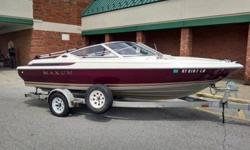 Stock Number: 719968. Looking to buy a bigger boat so it's time to sell our current one! Up for sale is a 96 Maxum 18 foot 1700 SR. It has a 4 Cylinder MerCruiser 3.0 inboard engine and gets amazing gas mileage! The boat is in excellent condition, always