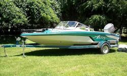 "1996 Astro FS18 Fishing Boat!!! GREAT FAMILY BOAT!!! This is and exceptionally clean garage kept since new Astro FSx18 18"" boat. This boat was purchased from the original owner. It is in excellent shape and condition. The interior is immaculate except for"