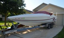 1996 BAJA ISLANDER 252 cuddy cabin, 7.4 MPI 454 Big Block Fuel Injected Engine (330 hp). Boat is in good condition, just had serviced at dealer and was tuned up and had new exhaust manifolds and risers installed. Boat has a total of 257.2 hours as of
