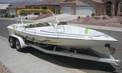 This is a SUPER CLEAN 1996 Hawaiian 21FT open bow,V8,outdrive,trim tabs,dual batteries,bimini top,tandem trailer,chrome wheels,swing away tongue,low hours,fresh water only,always garaged,just serviced,turn key ready to go.Must see.If you have any