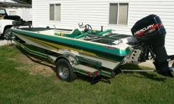 ,.1996 Norris Craft 2000XLD VEE20' 4000 Layup Hull (AME) Mercury 150 EFI outboardRemote Control Minn-Kota Ter-Rova Trolling MotorHummingbird 788ci HD fish finderEagle Fish Elite 500c and GPSDual battery charger and trickle chargerCustom coverPower