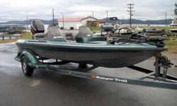 1996 Ranger 482VS Dual Console with a 2003 Mercury 150hpXR6 2 stroke and a 96' custom matched Ranger trailer.Has a 24 volt 70lb thrust Minnkota trolling motor, power trim, hydraulic steering, stainless steel prop, 2-hydraulic pedestal seats, good floor,