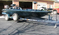 This 1996 Ranger Comanche Bass Boat is fully loaded with the following features: 461VS 18 foot blue metal flake.Lowrance Fish Finder X on the dashHydrolic Steering by Sea Star .Minn Kota Trolling Motor 24 volt.Three Batteries .Three Big Storage