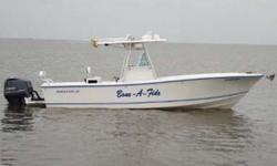 Type of Boat: Center ConsoleYear: 1996Make: RegulatorModel: 26' ClassicLength: 26Fuel Type: gasEngine Model: Twin 300 Yamaha four strokesMax Speed (Boat): 60Cruising Speed (Boat): 45Inboard / Outboard (Boat): Twin OutboardTotal Horse Power: 600Water: