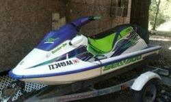 A good running seadoo. Just took it out last week no problems. Wanting to trade for a good 4-wheeler text at (832)-474-0377 Comes with trailerListing originally posted at http