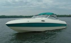 1996 Stingray 20ft Cuddy cabin. Very clean boat. Comes with everything you need to get on the water. Has a 4.3L Mercruiser alpha one with approximately 280 hours. I bought the boat with 14 hours. This boat will do 53 mph with all our gear in the boat. The