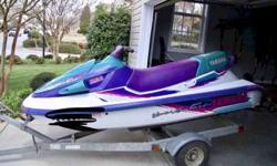 In excellent condition - 1996 Yamaha 3 Seater - fast and sturdy - always properly maintained and shrink wrapped - rides great -