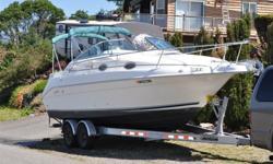 Type of Boat: CruiserYear: 1997Make: Sea RayModel: 250 SundancerLength: 25Hours: 260Fuel Capacity: 70Fuel Type: GasEngine Model: 260hp Merccruiser 5.7/ Bravo 2Sleeps how many: 6Max Speed (Boat): 27Cruising Speed (Boat): 22Inboard / Outboard (Boat): Single