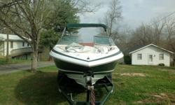 1997 Cobalt 232 One owner boat purchased in 1998 and professionally maintained every year. Boat runs great; is very fast and handles rough water with ease. High quality and great performer with Mercruiser 7.4 engine/single SS Prop, 330 HP power boat with