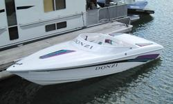 Boat runs great,has new lower unit installed 09. Engine excellant and strong. Will run near 70 MPH. Interior and exterior excellant condition for her age.? Aft Seat w/ Storage? Air Intakes- Recessed? Battery (2) w/ Triple Battery Charger System 110v?