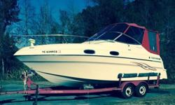 CLEAN LOW-HOUR CRUISER!VOLVO 7.4 MPI W/ 4 Tanks of Gas on Engine RebuildBoat used in fresh water until 2010 and then only on Intercontinental in Brackish Water, barely used in the past 5 years.This is a very lightly used boat and I am the original owner.