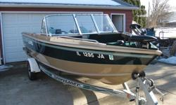 Very clean single owner boat, Owned and maintained by a Lexus mechanic. Always garage kept. Some normal wear from use but well cared for. The engine is a Johnson 115 Fast Strike oil injected so no mixing of fuel. The trailer is a Shorelander galvanized so