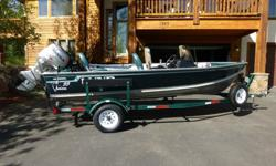 I am selling my 1997 16' Lund Rebel SS (Adventure Series), complete with two outboard motors, heavy duty trailer, and accessories. The general condition of everything is average to better than average. It is a great fishing boat and has been garaged,