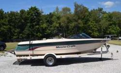 1997 Mastercraft Prostart 190. 2 owners, we have owned since 1998. Boat has been stored inside and on a covered shore station in the summers. Upgrades include the Corvette LT1 engine and Power Slot Transmission. Low hours, 600 and meticulously maintained.