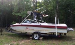The boat is in solid working condition and can be taken to the water exactly as is. It is a solid boat, has a very nice wakeboard tower and already has perfect pass installed. I've never had any issues out of this boat, regularly maintained and ready to