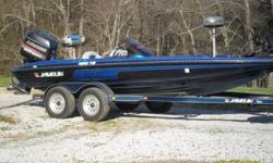 1997 JAVELIN 21 FOOT TOURNAMENT BOAT,GOOD CONDITION ,ORIGINAL 225 HP.JOHNSON RUNS XLNT ,EVEN COMPRESSION ON ALL CYCLINDERS,ON BOARD THREE BANK CHARGING SYSTEM,24 VOLT 80LBS.TROLLING MOTOR,NEW SEATS,NEW TIRES,NEW HD INTERSTATE MARINE BATTERIES,COLOR GRAPH