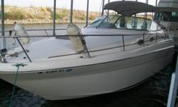 Stock Number: 714285. Sea Ray's most popular seller, and this one has factory built in heat/air conditioning, and generator, very hard to find in this size of boat. Vessel is well maintained and clean. Mechanically sound very fuel efficient single 7.4