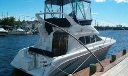 Type of Boat: Power BoatYear: 1998Make: SilvertonModel: 312 Sedan BridgeLength: 31Fuel Type: GasEngine Model: Twin 250hp MercSleeps how many: 6Inboard / Outboard (Boat): Twin I/OTotal Horse Power: 500Beam (Boat): 11.8Hull Material (Boat):